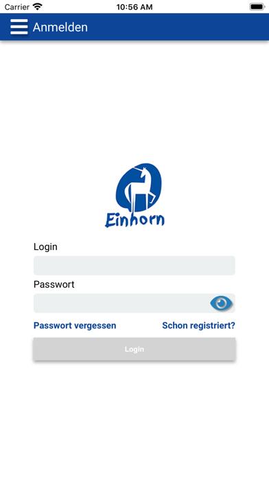 Einhorn - Online BestellsystemScreenshot von 1