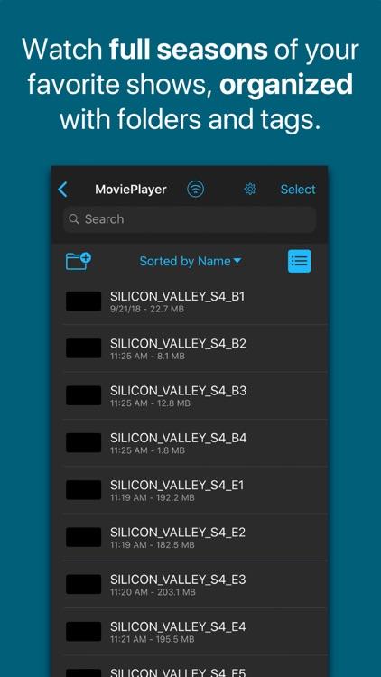 WiFi Movie Player screenshot-4