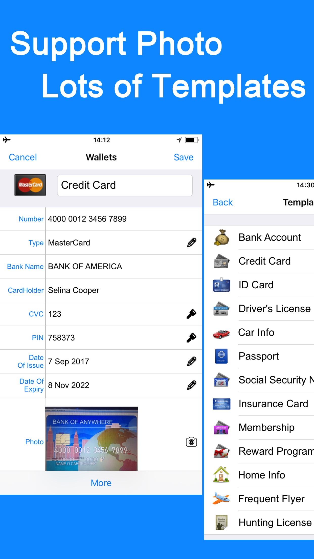 Password Manager Vault Safe Screenshot