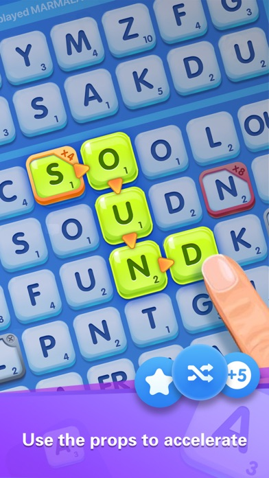 Word Crush - Social Game screenshot 2