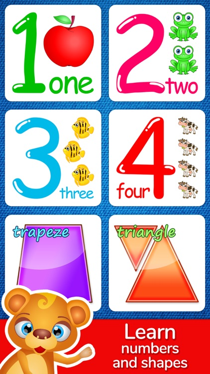 123 Kids Fun Puzzle Blue Games screenshot-3