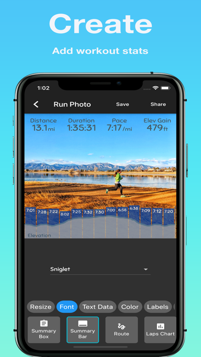 Run Photo - for Garmin, Stravaのおすすめ画像1
