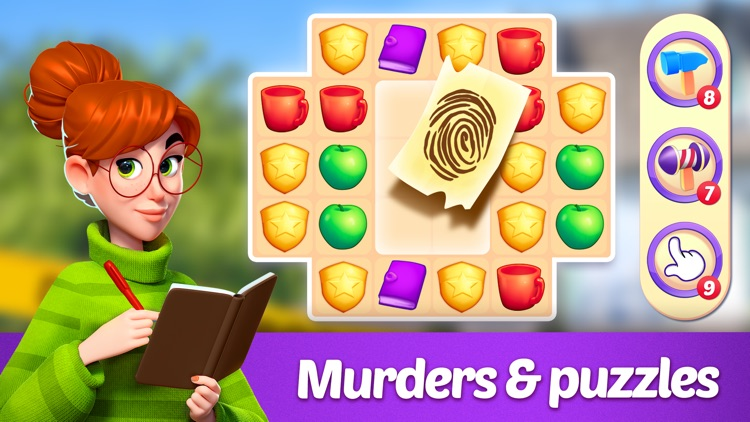 Small Town Murders: Match 3 screenshot-3