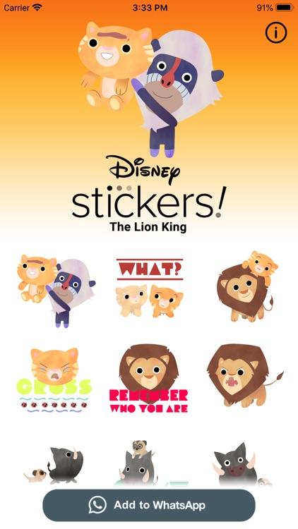 The Lion King Stickers screenshot-4