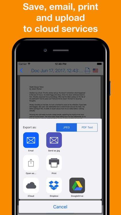 Mobi-Scan: PDF Scanner App screenshot-3