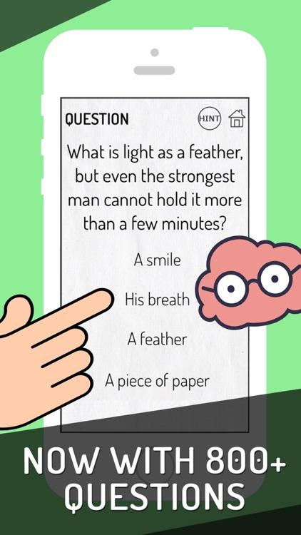 Genius Brain Test: Tricky Quiz screenshot-4