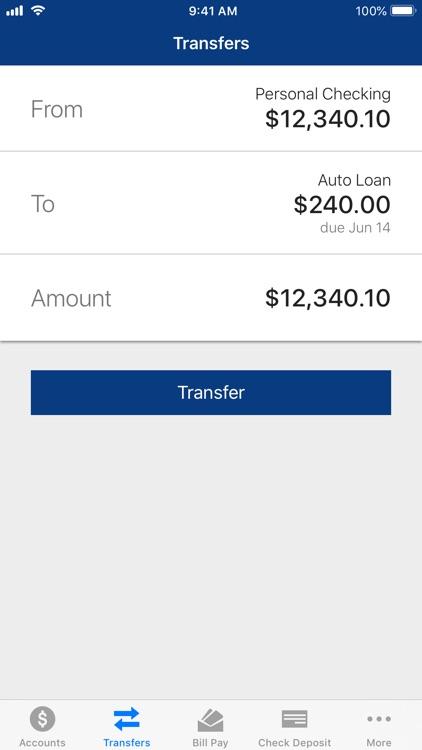 Texans Credit Union Mobile screenshot-3