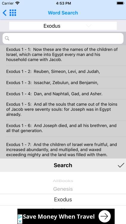 Holy Bible RSV Offline screenshot-9