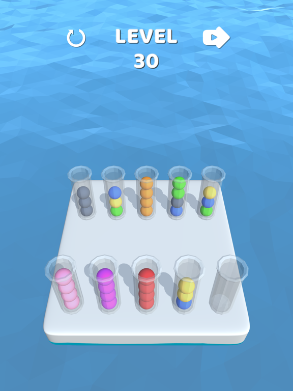 iPad Image of Sort It 3D