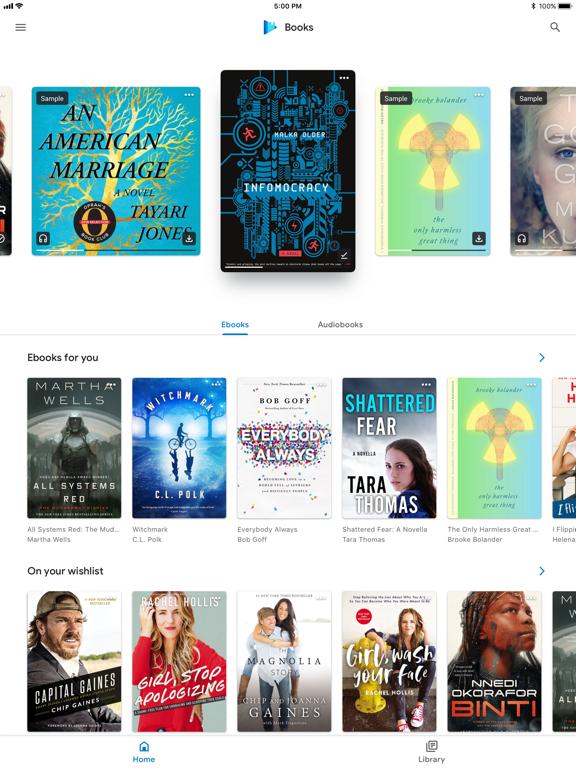 Screenshot #4 pour Google Play Livres
