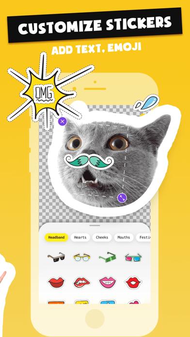 Stickers Funny of Meme & Emoji screenshot 3