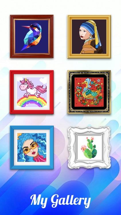 Color Artbook: Color by number screenshot-4