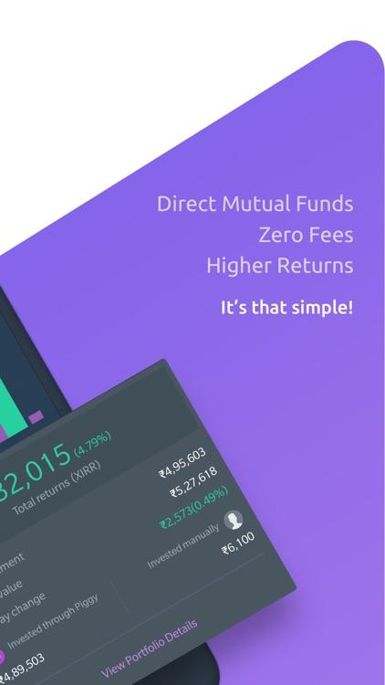 Piggy - Mutual Funds App
