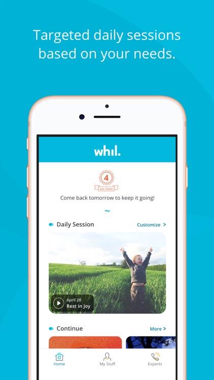 Whil: Mindfulness & Meditation screenshot-4