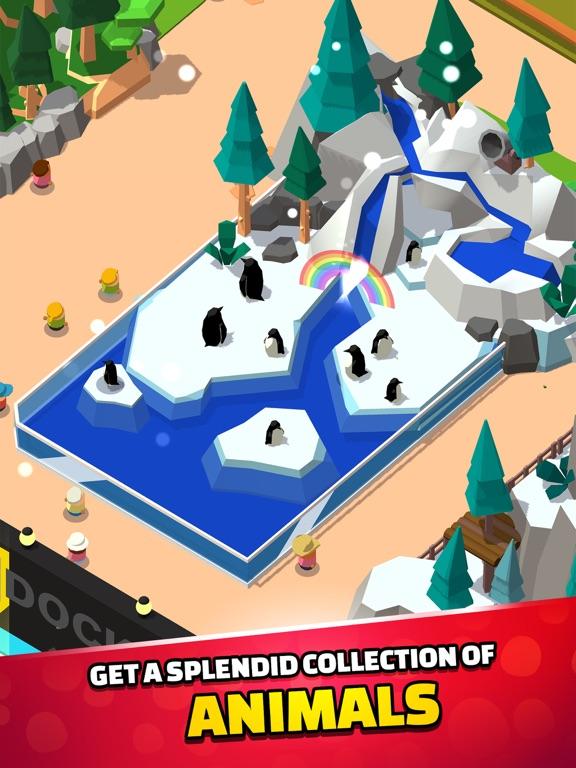 Idle Zoo Tycoon 3D iPad app afbeelding 2