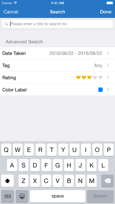 Qphoto - App - iPod, iPhone, iPad, and iTunes are trademarks of