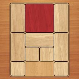 Klotski puzzle game