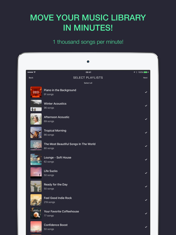 RELAY: Move your music library screenshot 2