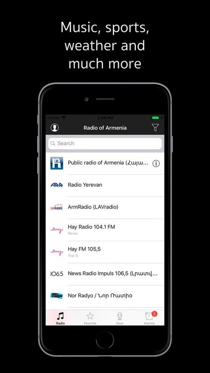 Radio of Armenia online screenshot-3