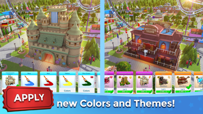 RollerCoaster Tycoon® Touch™ Screenshot on iOS