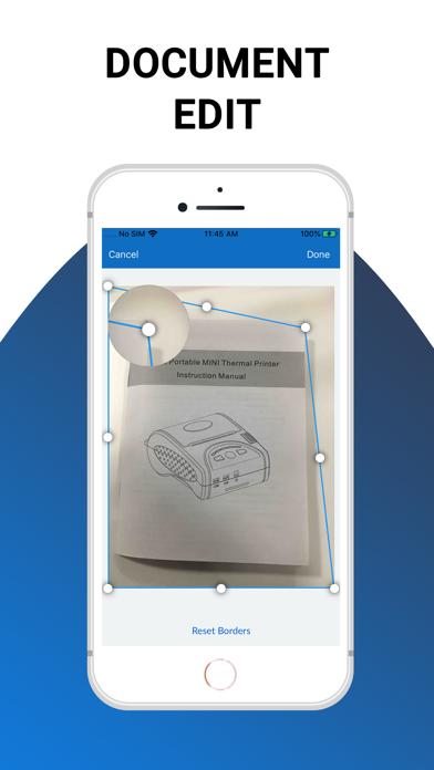 QuickScan - PDF Scanner App screenshot