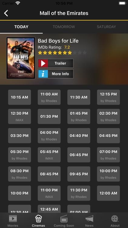 UAE Cinema Showtimes screenshot-4