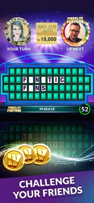 Wheel of Fortune: Show Puzzles Screenshot