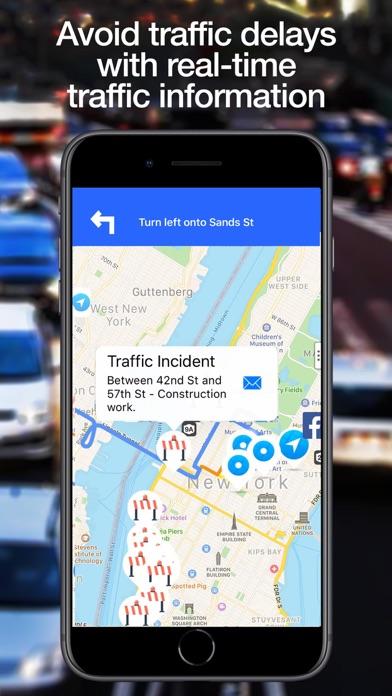 Traffie Navigation & Alerts Screenshot