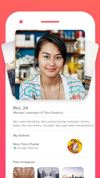 Screenshot for Tinder in Indonesia App Store