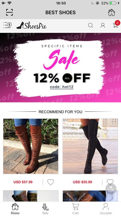 Shoespie: Shop the shoes screenshot 2