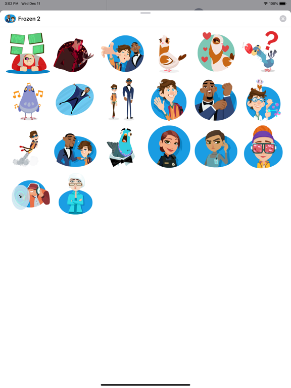 Spies in Disguise Stickers screenshot 7