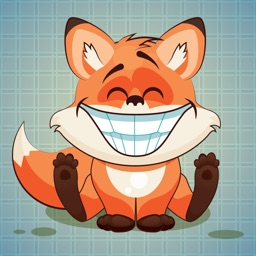 Sticker Me: Funny Fox