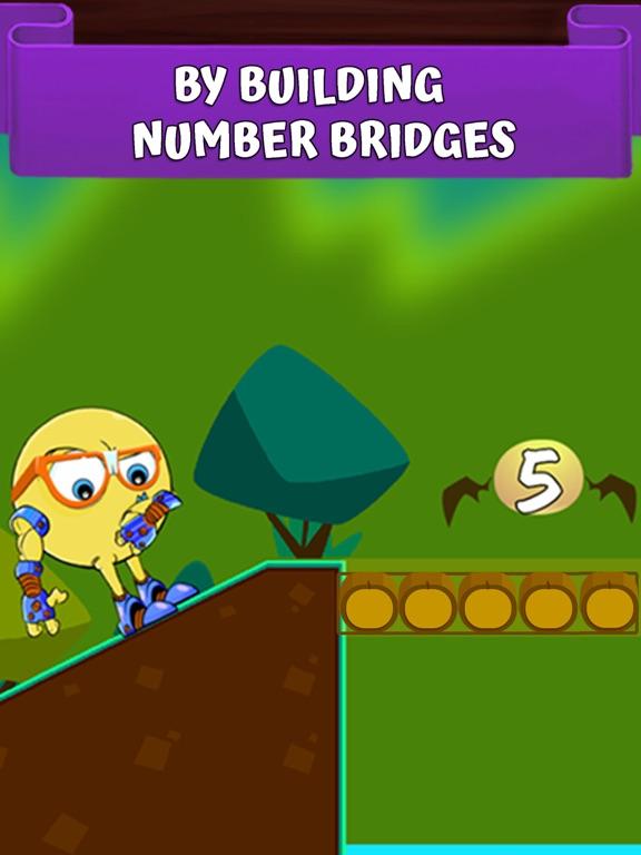 Math Bridges - Adding Numbersのおすすめ画像3
