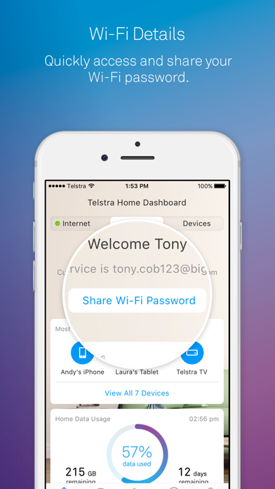 Download Telstra Home Dashboard™ for Pc