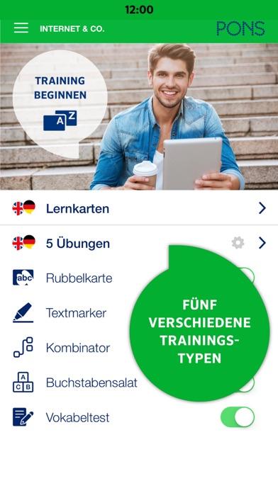 Screenshot for PONS Vokabeltrainer in Germany App Store