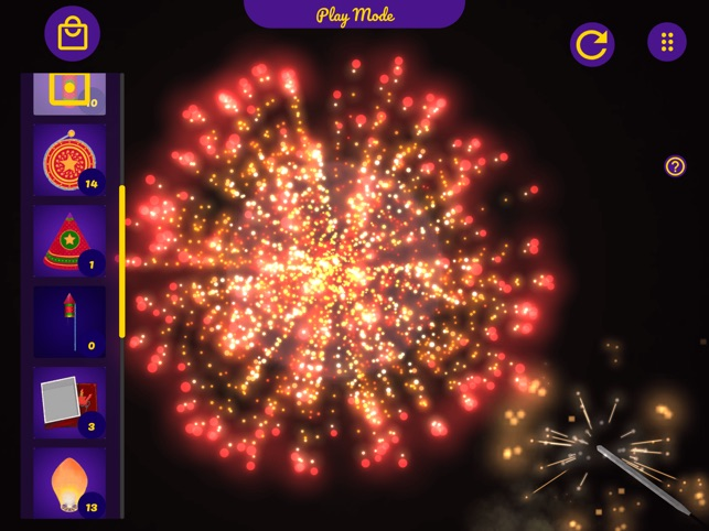 Augmented Reality Fireworks!