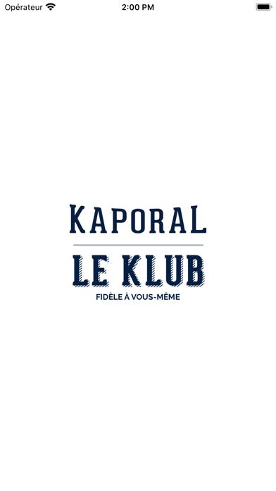 Screenshot #1 pour Le KLUB - KAPORAL