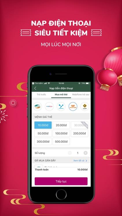 Ví MoMo: Nạp Tiền & Thanh Toán screenshot-3