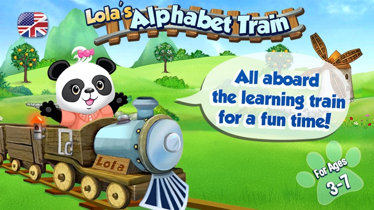 Lola's Alphabet Train ABC Game
