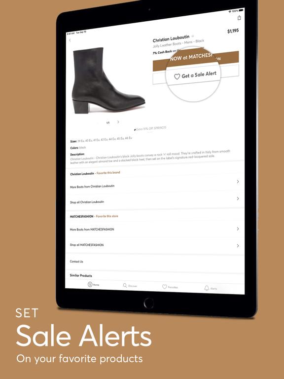 Screenshot #5 pour ShopStyle: Fashion & Cash Back