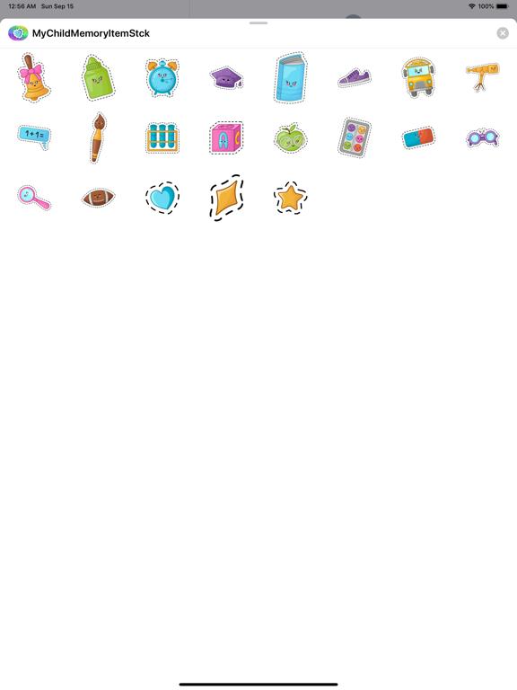 MyChildMemoryItemStck screenshot 5