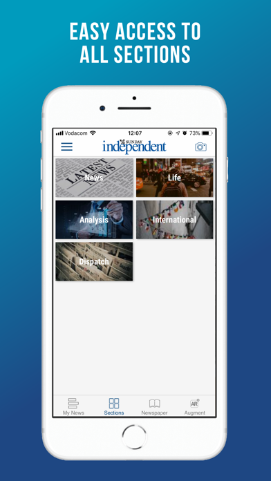Image of Sunday Independent for iPhone