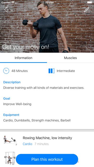 The Hutch Fitness Hub screenshot 2