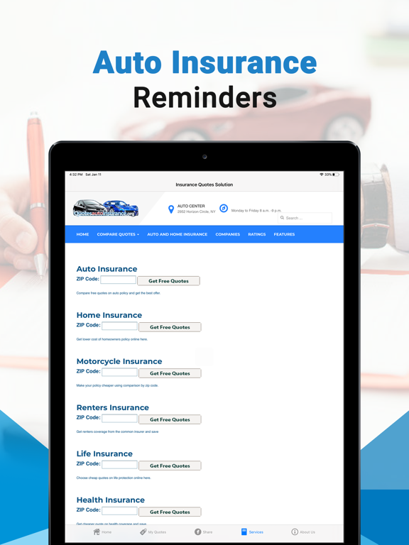 Insurance Quotes Solution App Price Drops