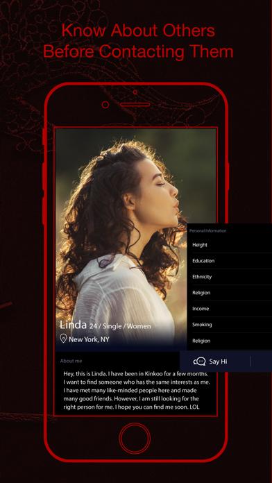 Kinkoo: Kinky, Fet BDSM Dating Screenshot
