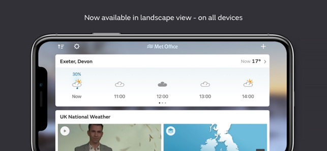 Met Office Weather Forecast on the App Store
