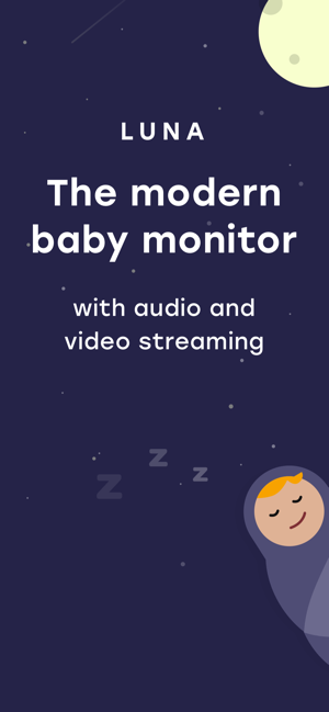 ‎Luna - Baby Monitor with Video Screenshot
