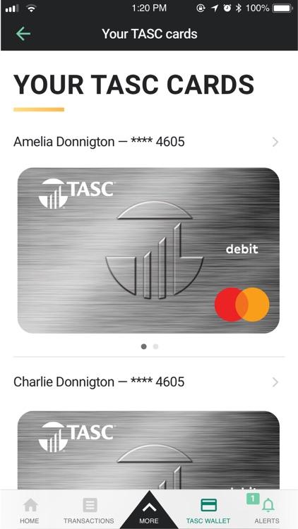 TASC app for iPhone screenshot-3