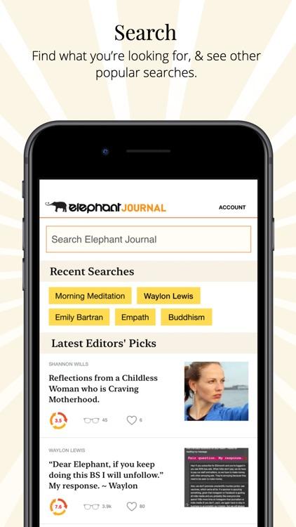 Elephant Journal screenshot-3