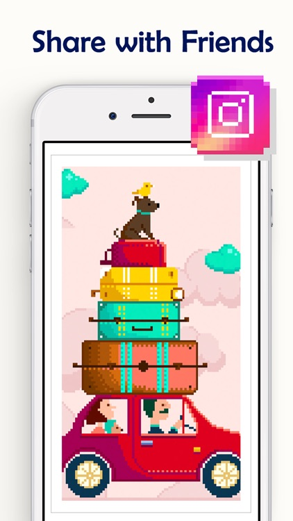 Pixel Coloring Book Game screenshot-5
